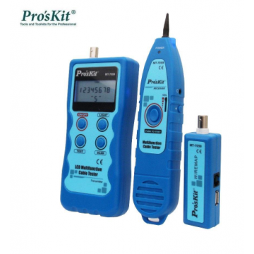 Pro'sKit MT-7059 LCD Multi Function Cable Tester
