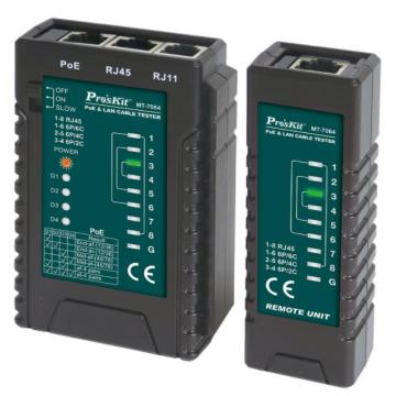 Pro'sKit MT-7064  PoE & LAN Cable Tester