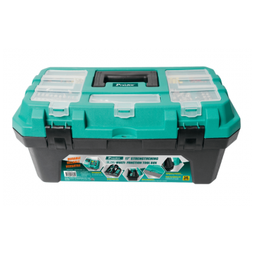 PRO'SKIT SB-1718 17in 15KG Multi-Function Tool Box With Removable Tote Tray